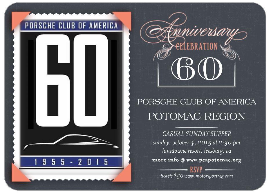 60th Anniversary Invitation