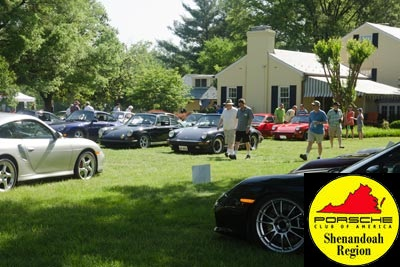 The Shenandoah Region would like to annouce the Shenandoah's 18th Annual Richmond Porsche Meet (RPM).
